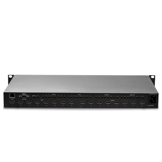 8x8 HDMI 18G Matrix with Video Wall Scaling
