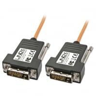 90m DVI-D Single Link Fibre Optic Hybrid Cable