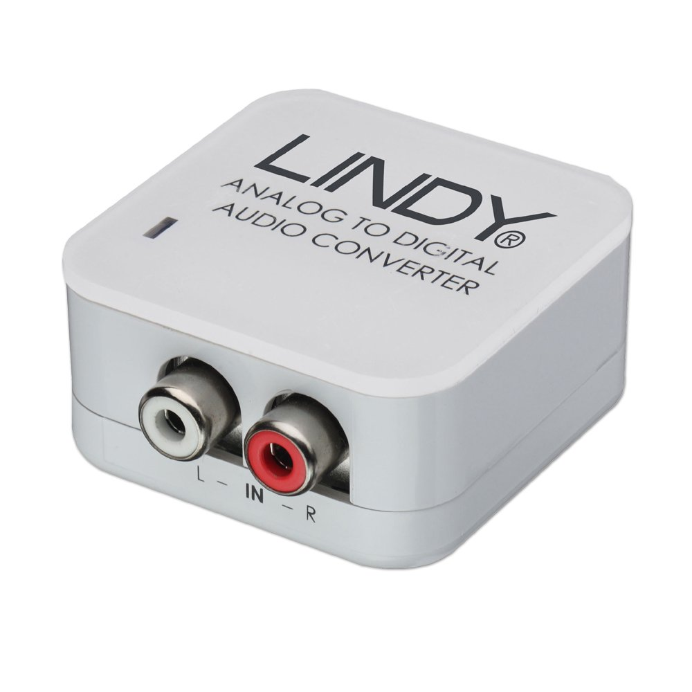Analogue Stereo To Spdif Digital Audio Converter From