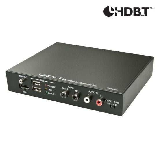 C6 HDMI 2.0 Receiver Pro with HDBaseT™