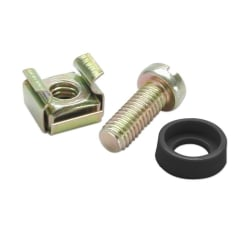 Cage Nuts, Screws & Washers (50 pieces of each)