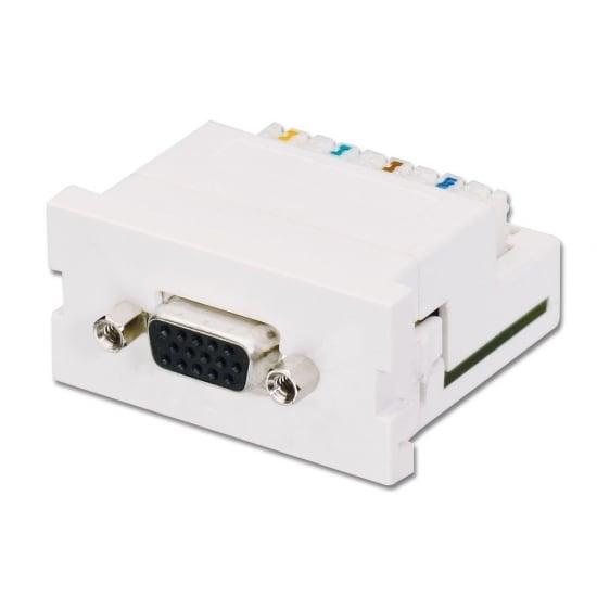 CAT5e/6 Modular VGA Extender