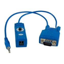 150m CAT5e/6 VGA & Audio Receiver