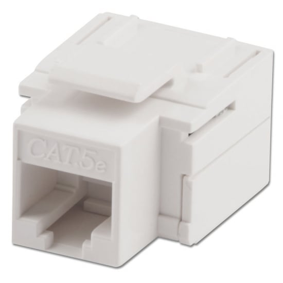 CAT5e Keystone Coupler, White