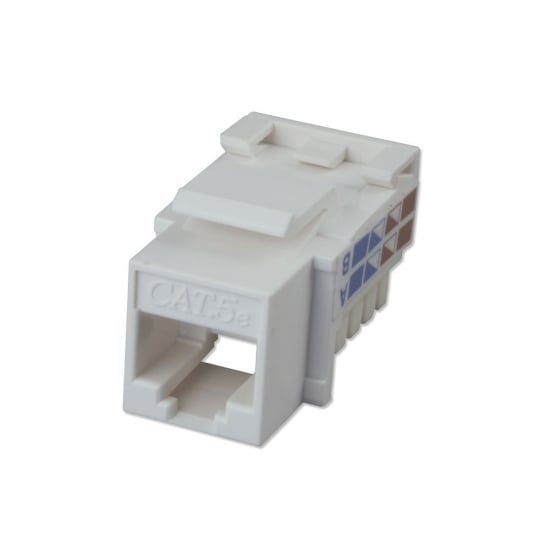 CAT5e Punchdown Keystone, White