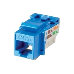 CAT6 Punchdown Keystone, Blue