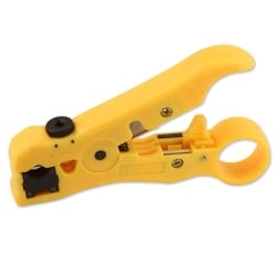 Combination Stripping Tool For Round + Flat Cable