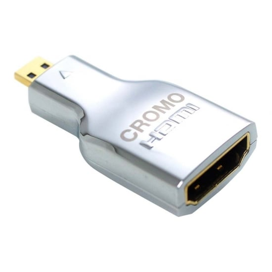 CROMO HDMI Female to Micro HDMI Male Adapter