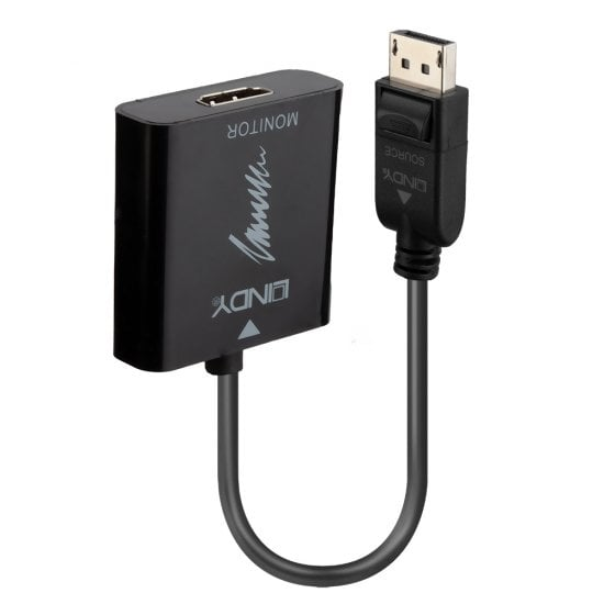 DisplayPort 1.2 to HDMI 2.0 18G Active Converter