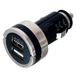 Dual Smart USB Car Charger 4.8A / 24W