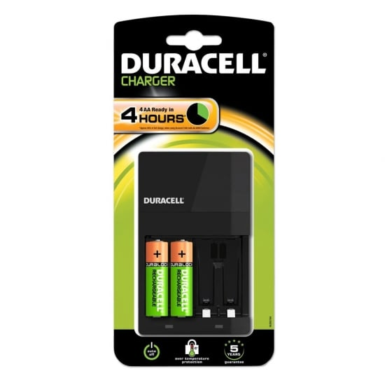 duracell simply 4 battery charger from lindy uk. Black Bedroom Furniture Sets. Home Design Ideas