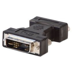 DVI-A Male to VGA Female Adapter, black