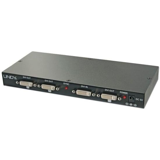 DVI-D Video Splitter, 8 Port Distribution Amplifier