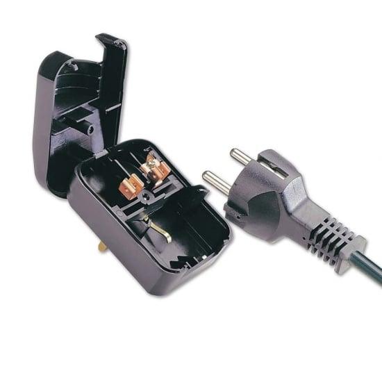 Earthed Schuko Plug Converter