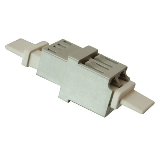 Fibre Optic Coupler - LC to LC, Multi-mode, Metal Ferrule