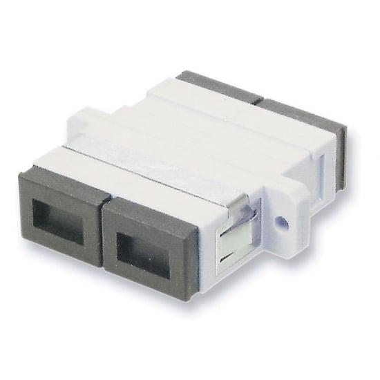 Fibre Optic Coupler - SC to SC, Multi-mode, Metal Ferrule