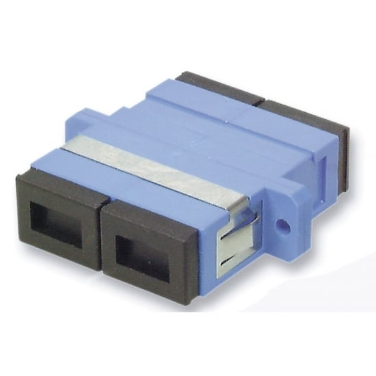 Fibre Optic Coupler - SC to SC, Single-mode, Ceramic Ferrule