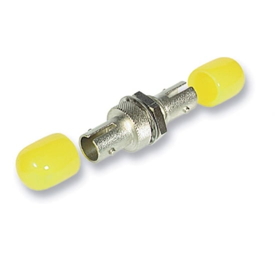 Fibre Optic Coupler - ST to ST, Multi-mode, Ceramic Ferrule