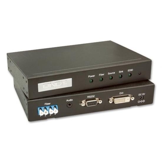 Fibre Optic DVID Dual Link Extender 500m