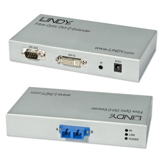 Fibre Optic DVID Extender 300m
