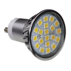 GU10 4W Dimmable LED Lamp, Warm White