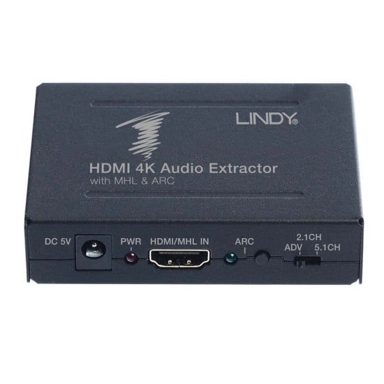 HDMI 4K Audio Extractor De-Embedder with ARC & MHL