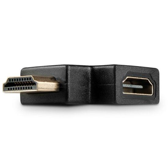 HDMI 90 Degree Right Angled Adapter, Black