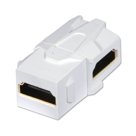 HDMI Female to Female 90 Degree Keystone