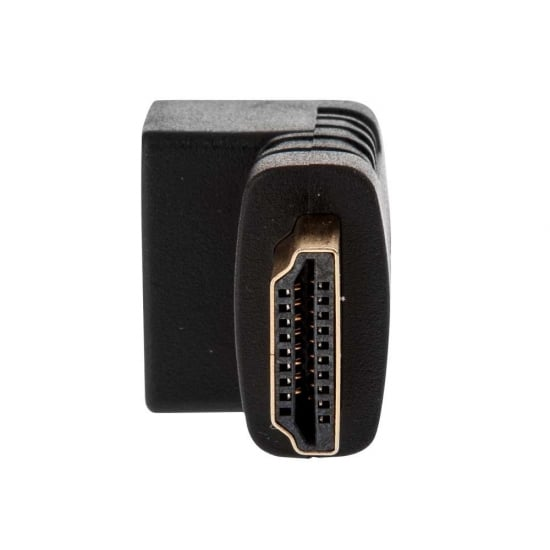 HDMI Female to HDMI Male 90 Degree Right Angle Adapter - Down