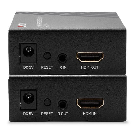 HDMI & IR over 100Base-T IP Extender