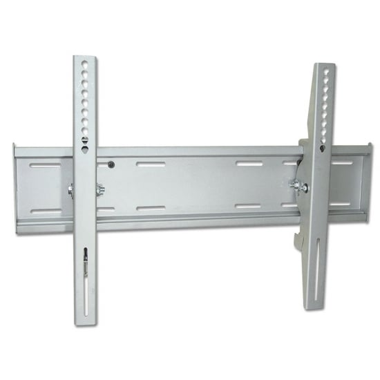 """Heavy Duty LCD, LED & Plasma TV Wall Bracket Mount for up to 80kg / 60"""" Screens, Silver"""
