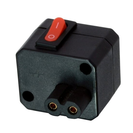 IEC C8/C7 (Fig 8) In-Line Switch