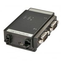 Industrial USB to Serial Converter - 2 Port (RS232)