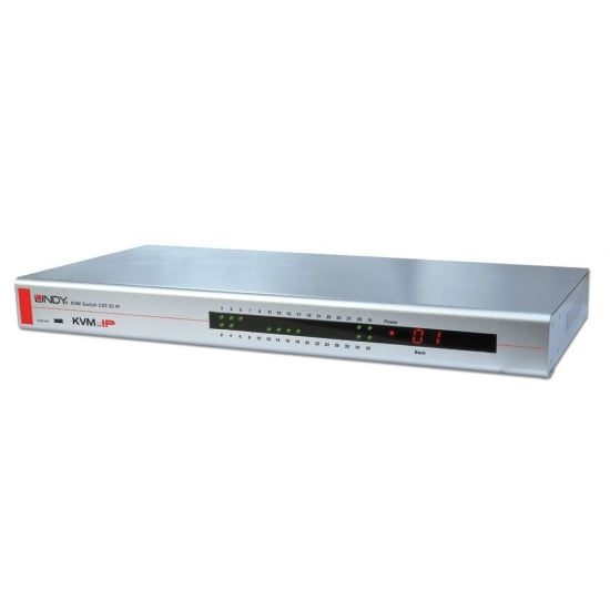 KVM Switch CAT-32 IP Combo, 32 Port