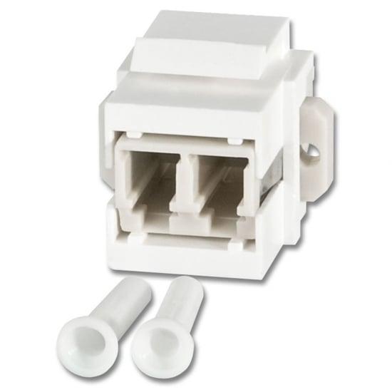 LC Duplex Multimode Keystone Block