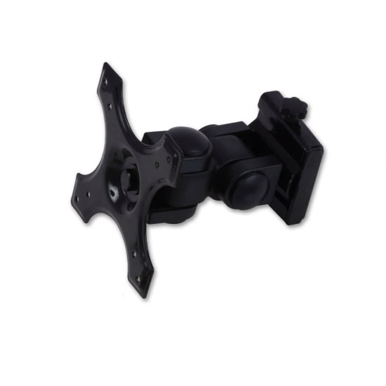 """LCD & LED Low Cost TV Wall Bracket Mount for up to 8kg / 19"""" Screens, Black"""