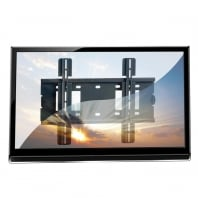 """LCD, LED & Plasma TV Wall Bracket Mount for up to 40kg / 40"""" Screens, Black"""
