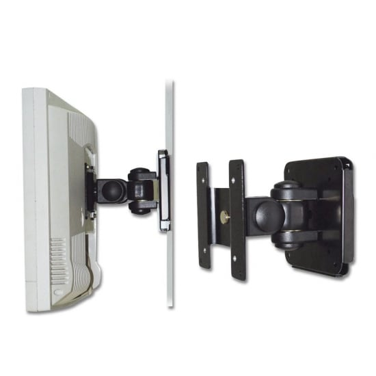 Lcd led tv wall bracket mount for up to 15kg 19 for Tv wall mount reviews