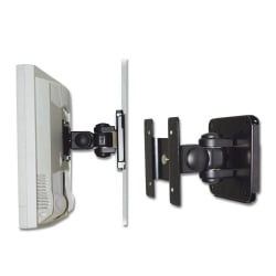"LCD & LED TV Wall Bracket Mount for up to 15kg / 19"" Screens, Black"