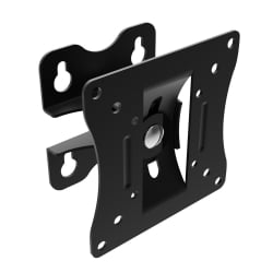 "LED & LCD TV Low Cost, Adjustable Wall Mount Bracket for up to 15kg / 19"" Screens, Black"