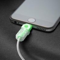 Lightning Cable Connector Protector Kit, Green