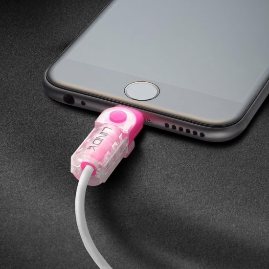 Lightning Cable Connector Protector Kit, Pink
