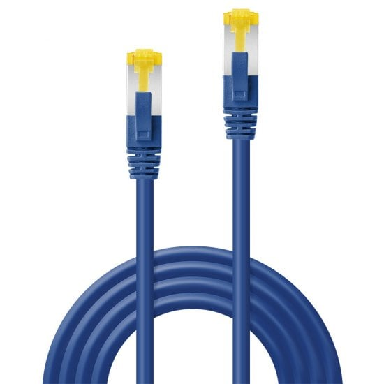 30m RJ45 S/FTP LSZH Network Cable, Blue