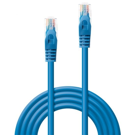 7.5m Cat.6 U/UTP Network Cable, Blue