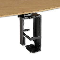 Locking Under Desk PC Holder