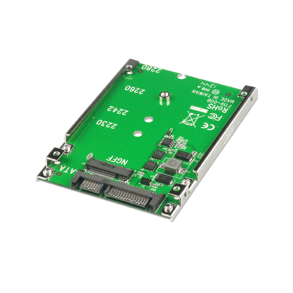 M 2 Ssd To 2 5 Quot Sata Adapter From Lindy Uk