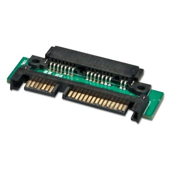 Micro SATA Data + Power to SATA Data + Power Adapter 5V DC