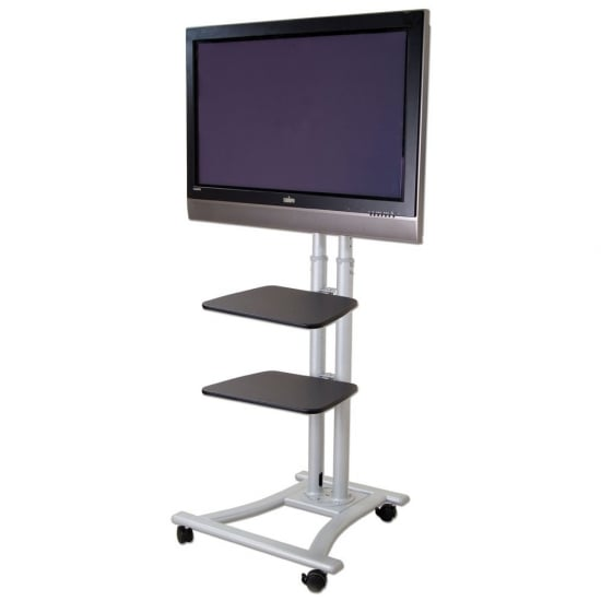 Mobile Plasma & LCD Trolley Shelf