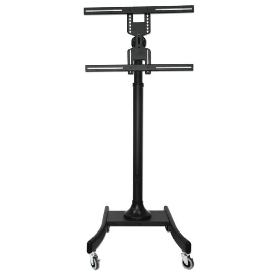 "Mobile Plasma, LED & LCD Trolley Lite for up to 35kg / 60"" Screens, Black"