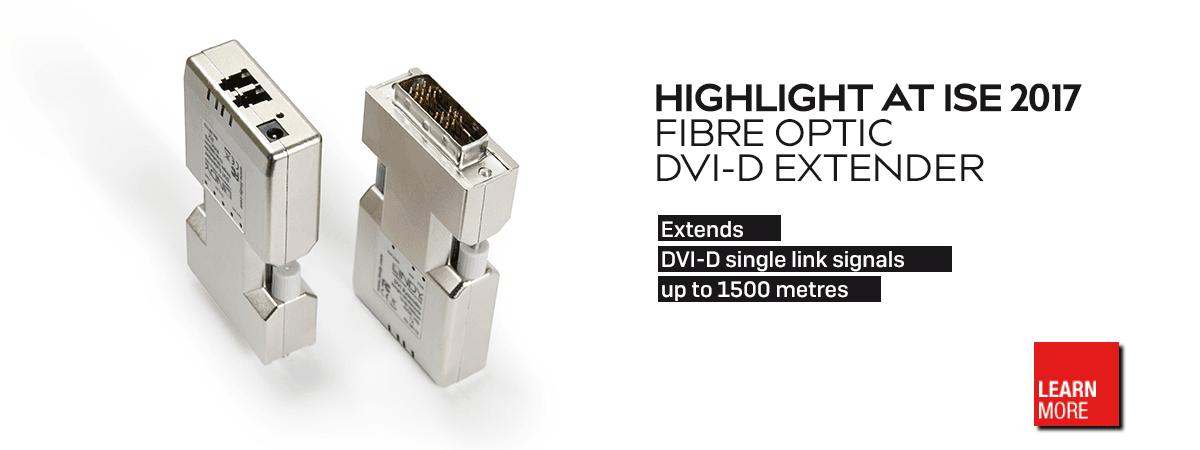 1500m Fibre Optic DVI-D Extender